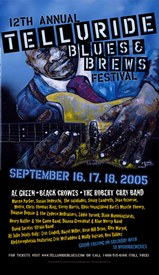 Telluride Blues & Brews Festival | 2005 Poster