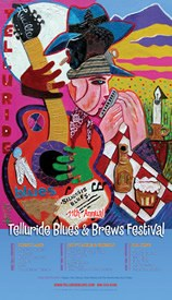 Telluride Blues & Brews Festival | 2004 Poster