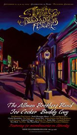 Telluride Blues & Brews Festival | 2003 Poster