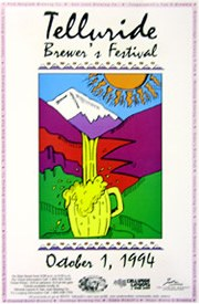 Telluride Blues & Brews Festival | 1994 Poster
