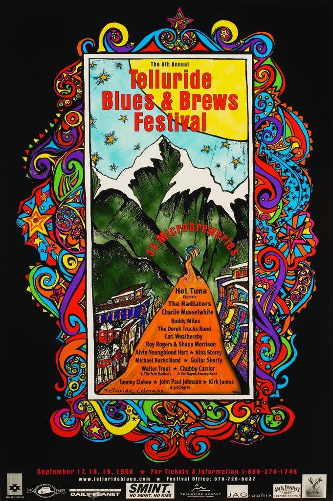 Telluride Blues & Brews Festival | 1999 Poster