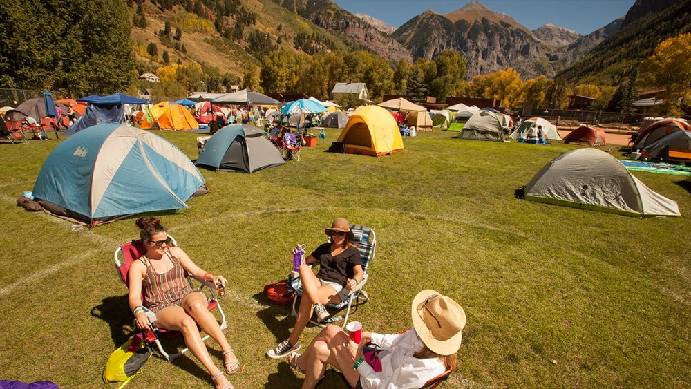 <p><strong> Camping </strong> Camping, Glamping, Gear Rentals, there's options for everybody. <a href=/camping>More →</a></p>