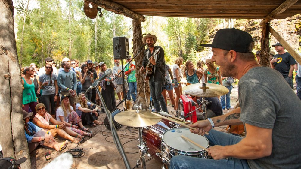 <p><strong> Campground Sessions </strong> Additional shows in the campground, exclusive to campers.  <a href=/camping/#campground-sessions >More →</a></p>