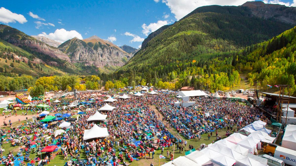 Telluride Bluegrass Festival 2020.Telluride Blues Brews Festival
