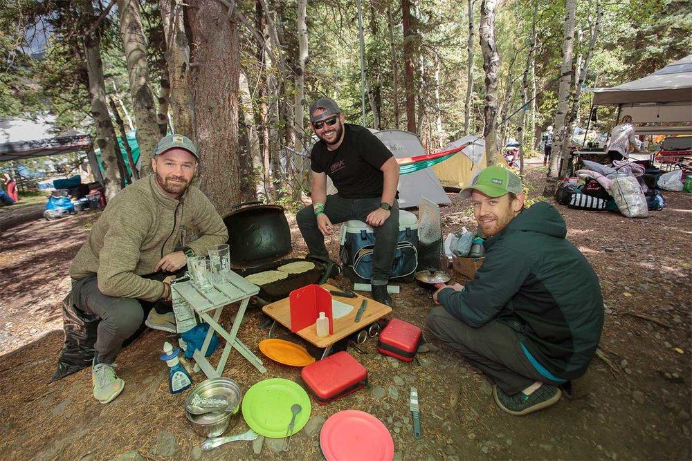 Camping at Telluride Blues & Brews Festival