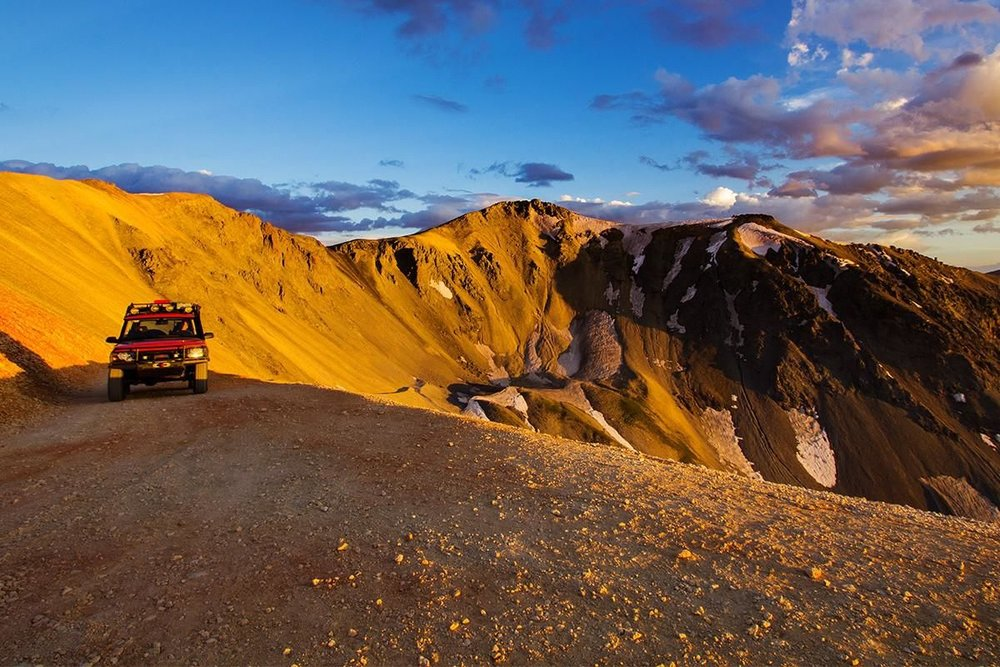 4x4 Off Road Drive in Telluride, Colorado - Photo by Ryan Bonneau