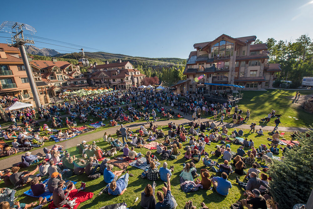 <p><strong>Sunset Blues Concert</strong> Kick off the festival with a show in Mountain Village's Sunset Plaza. <a href=/late-night-shows>More →</a></p>