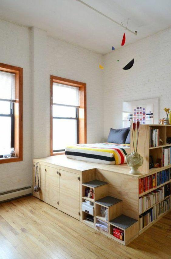 lit sur estrade optimiser studio