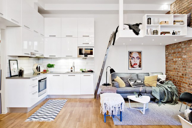 lit-mezzanine-studio gain de place