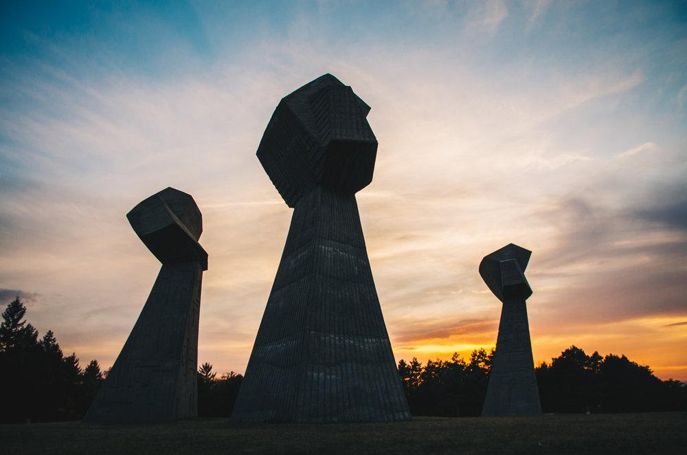 Bubanj spomenik in Nis