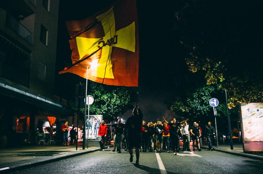 Serbia vs Montenegro football 3