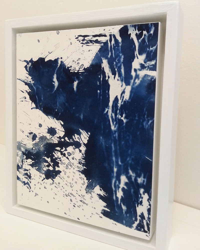 Form in the Formless Sea, cyanotype
