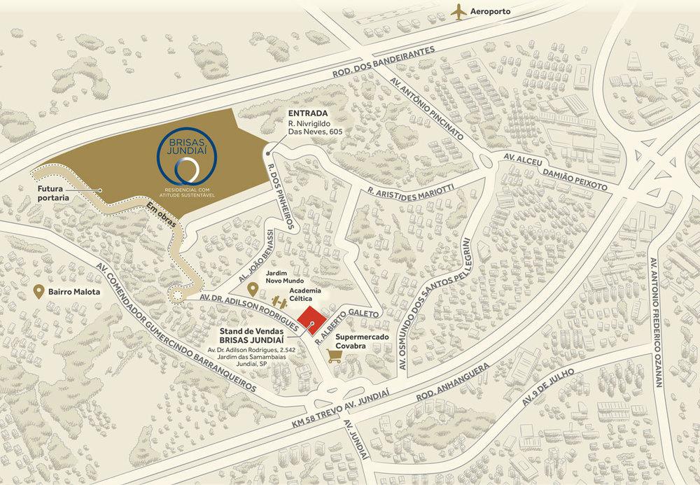 Localização privilegiada entre os bairros Malotae Novo Mundo. - Rua Nivrigildo das Neves, 605Jundiaí – SP