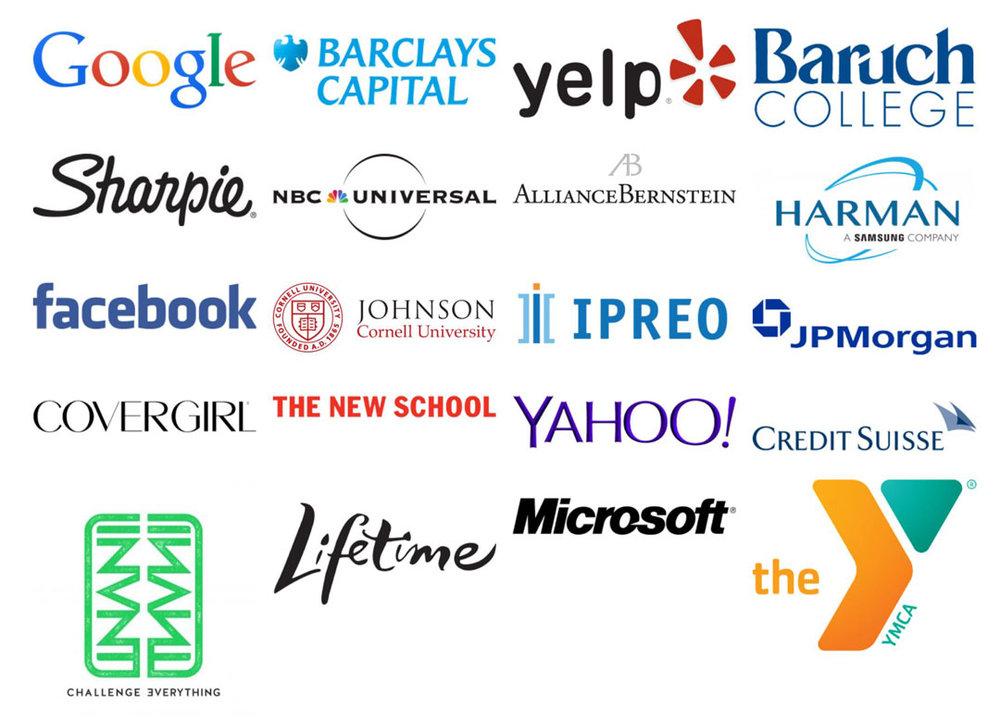 Previous Clients -