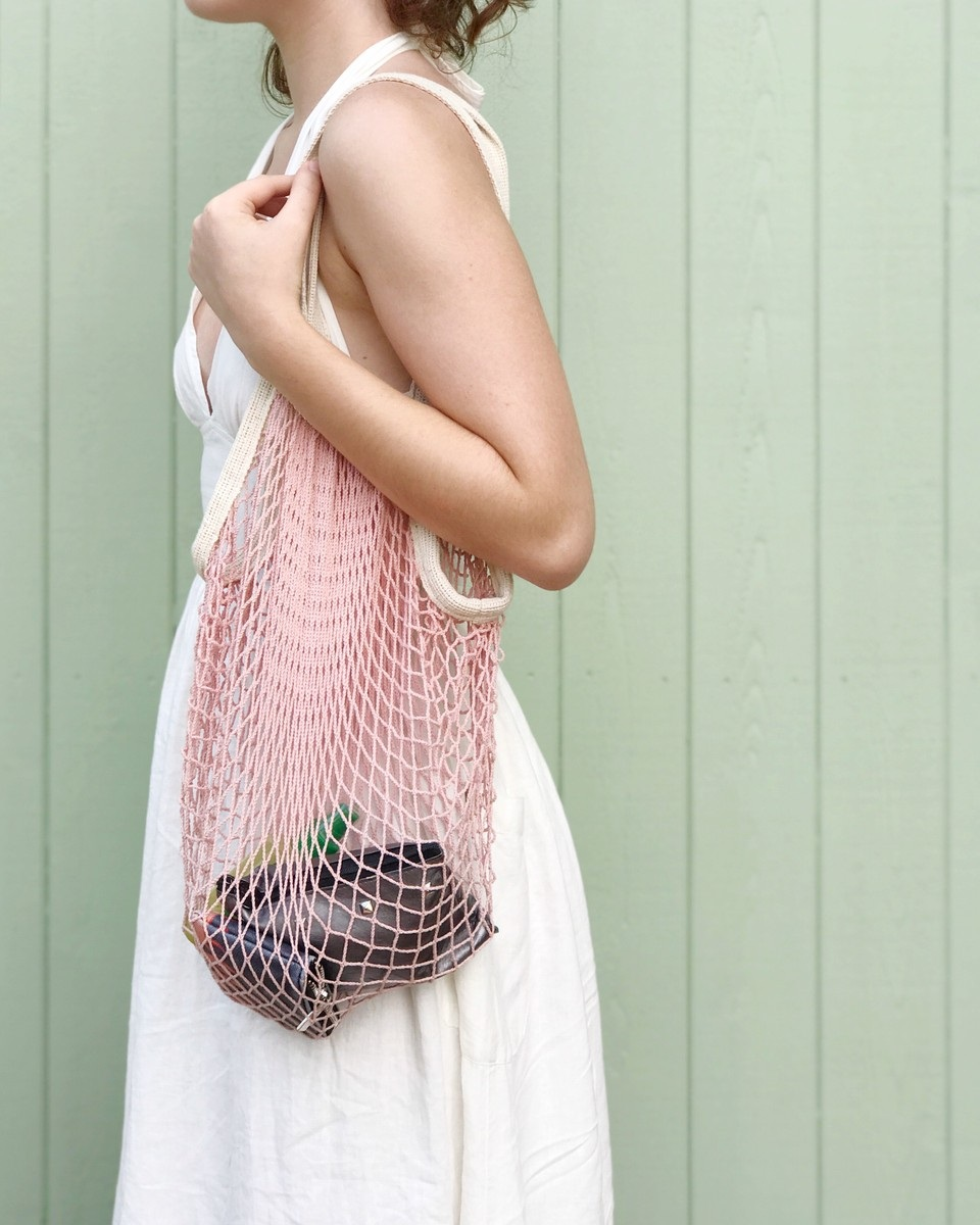 The Market Tote in Pink.