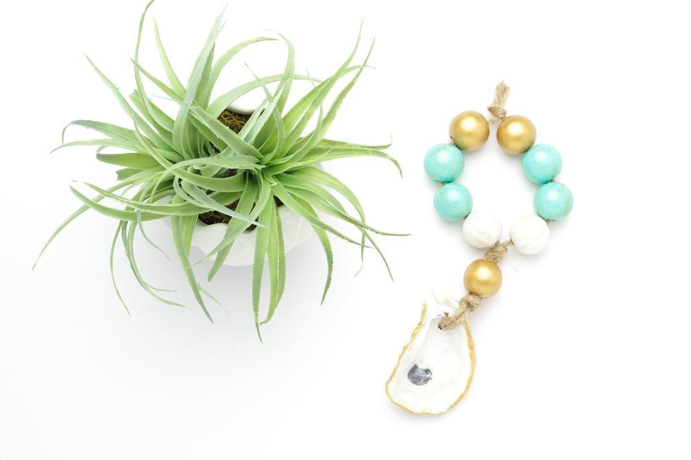 Coastal Beads: a beautiful housewarming or baby gift.