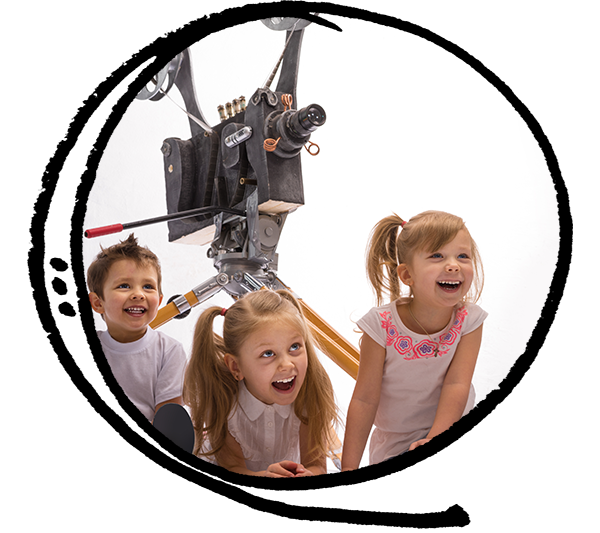Film-making class after school for children, kids, preteens, and teens in Toronto, East York.