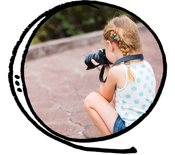 Photography classes after school for children, kids, preteens, and teens in Toronto, East York.