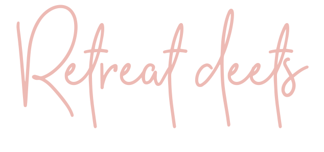 Retreat deets | Lisa Kuzman Coaching | Self-Care & Wellness Coach, Therapist, and Mentor