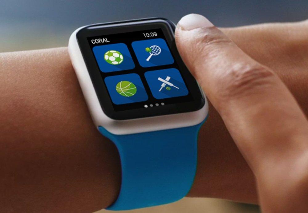 Coral Apple Watch App - UX/UI Designer