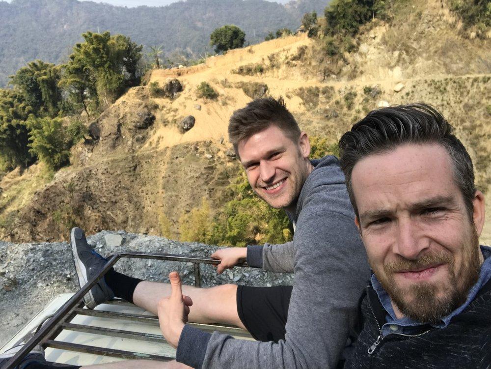 Chris & Justin in Nepal