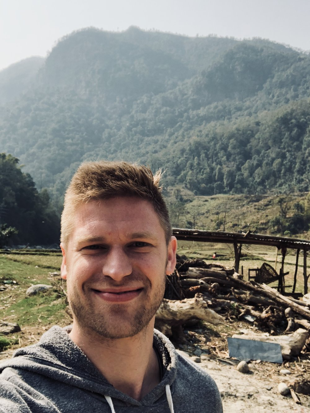 Chris in Nepal
