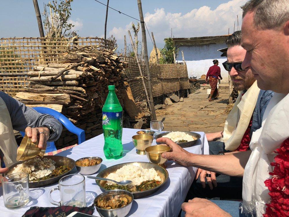 Local Nepal cuisine
