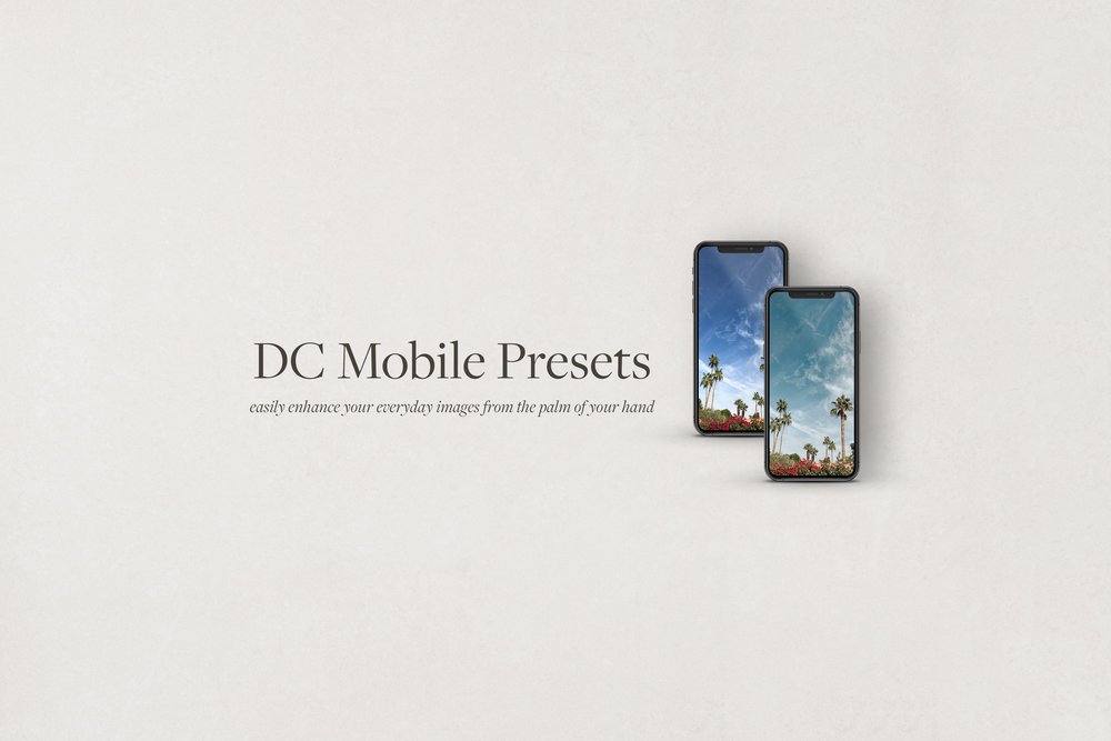 DC Mobile Presets Pack 01