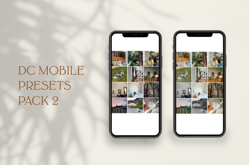 DC Mobile Presets Pack 02