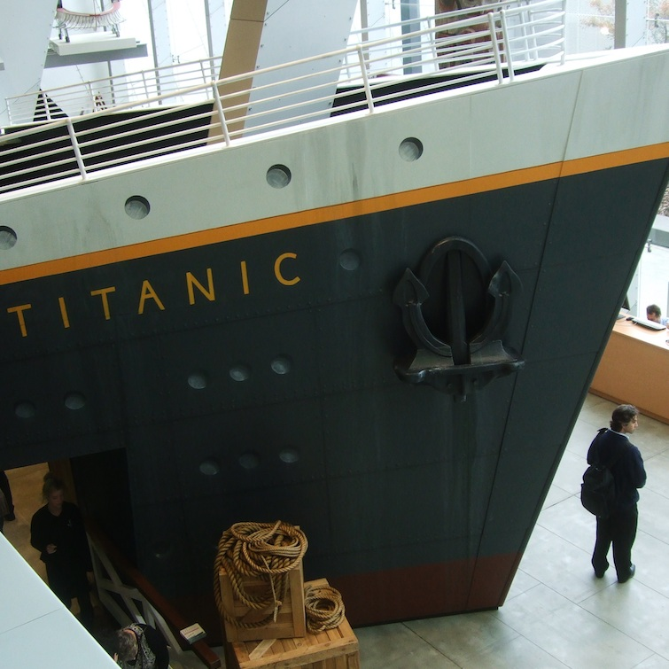 Titanic Entrance, Melbourne Museum