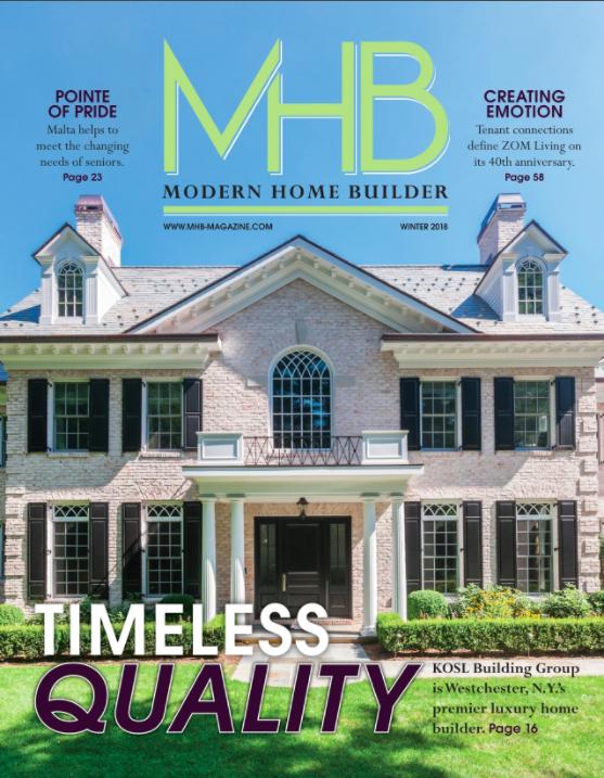 MODERN HOME BUILDER WINTER 2018