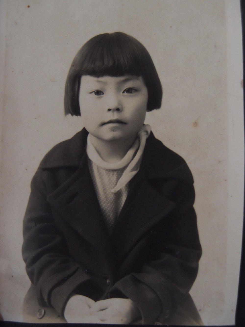 Ann as a young girl