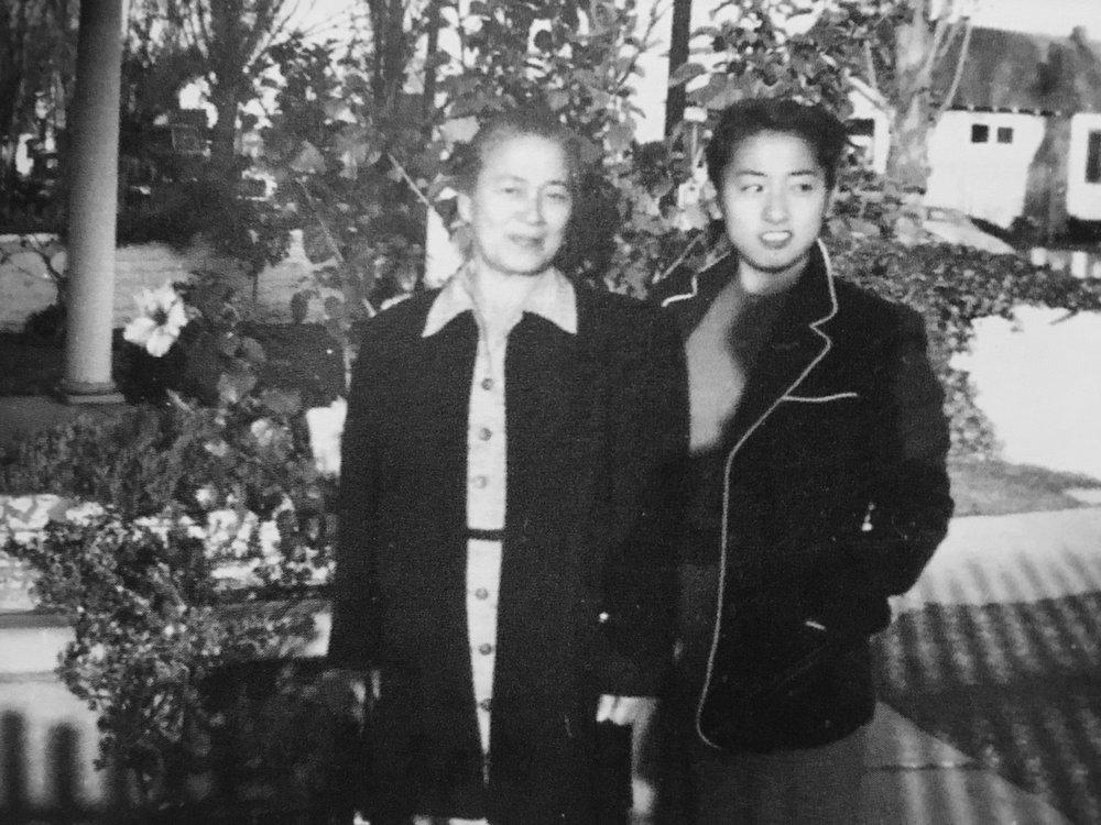 Grace's mother (Aki Toya) and Grace.