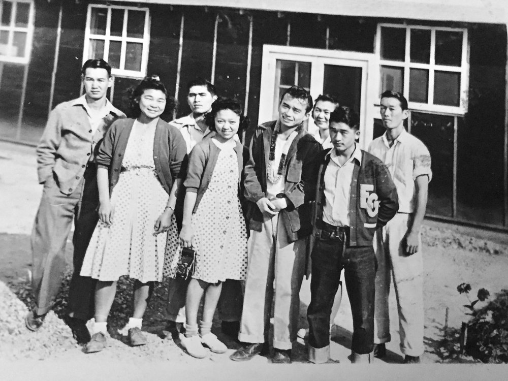 The Nobori family friends, some of which are recognizable in the video