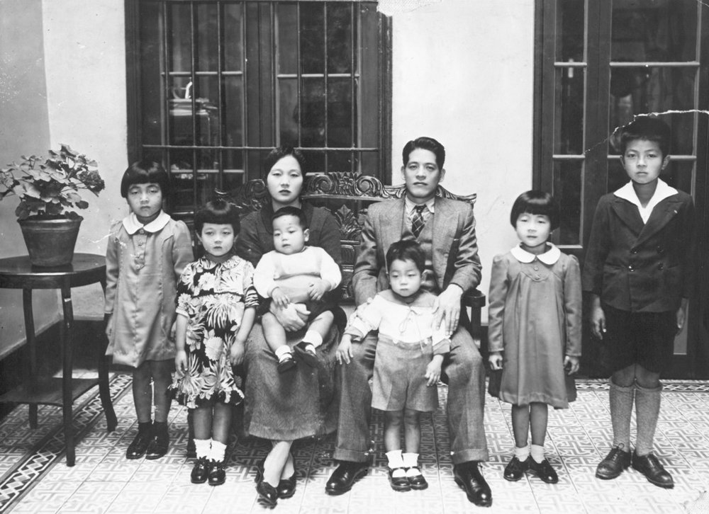 The Shibayama family in Peru