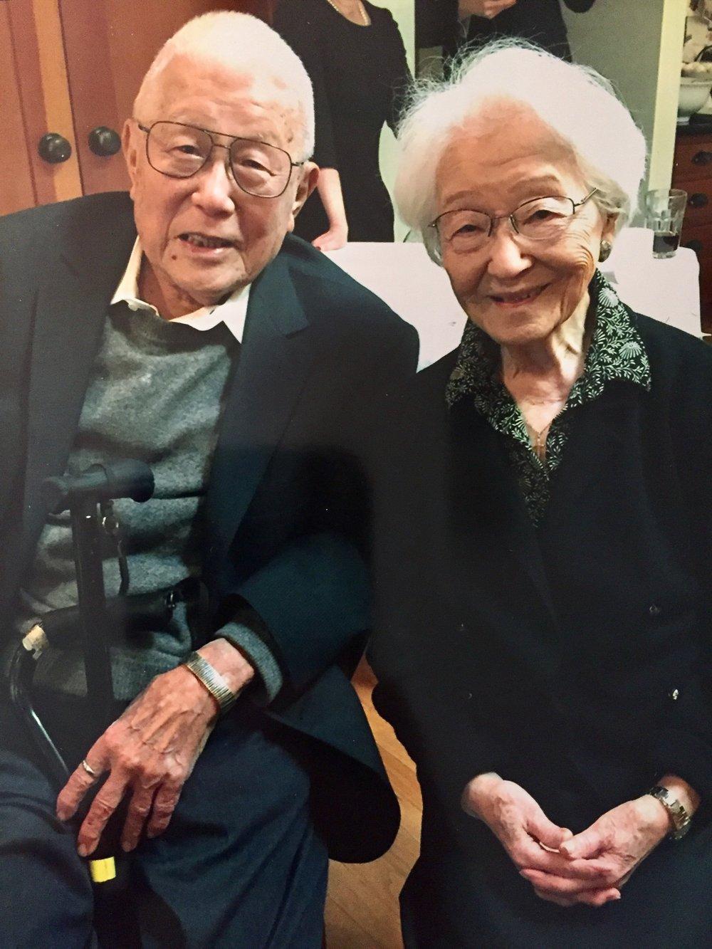 Maru and her brother, Sid Okazaki