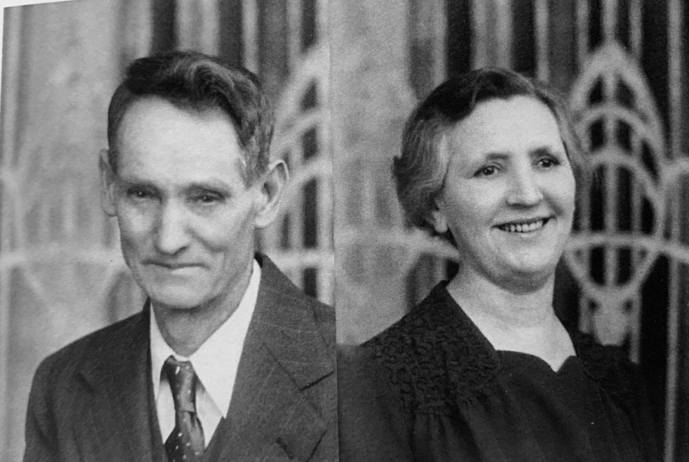 Velora's parents, Edward and Alice Williams