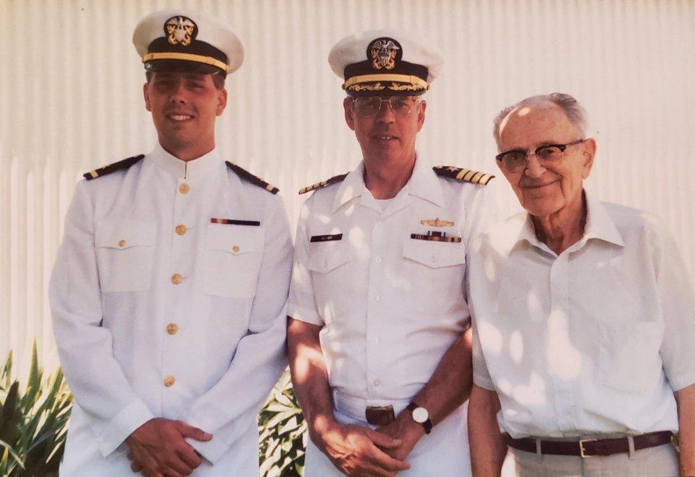 Three Generations Of Navy