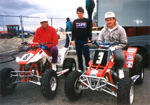 Brian Fuller, Loren Duncan Don Turk Holland 1989.jpg