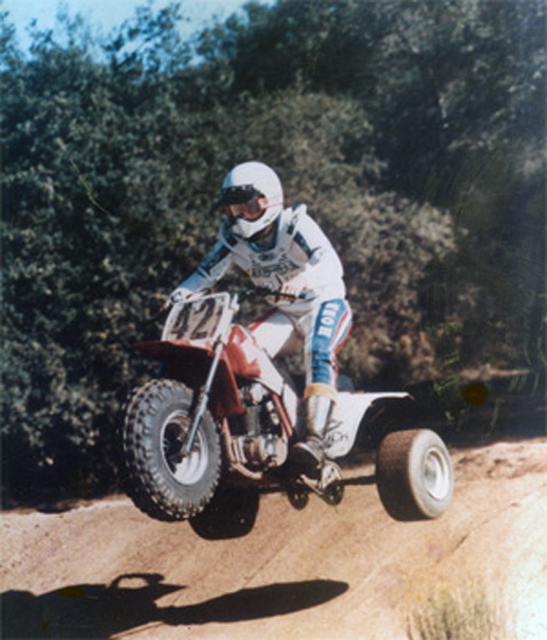 Lenny Duncan riding ATC 200X 1984.jpg