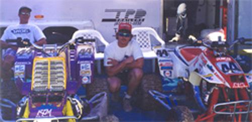 Leonard Duncan with Doug Eichners Bikes-1992.jpg