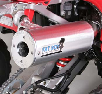 FAT BOY 4  COMPLETE 4 STROKE EXHAUST