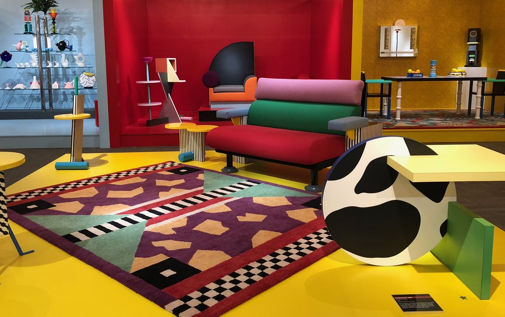 Current Exhibit - - Space Oddities: Bowie | Sottsass | Memphis(Including Items from the Estate of David Bowie)