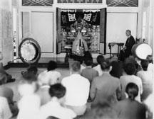 Kapapala Mission Temple Service, circa 1955, Donald Shintaku