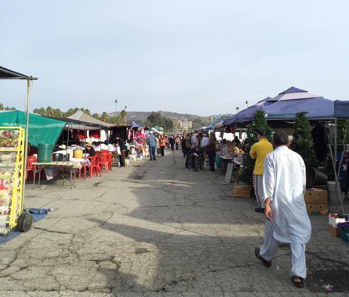 A View of the Swap-Meet