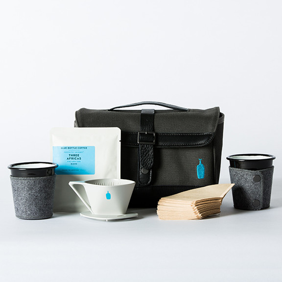 Timbuk2 x Blue Bottle Coffee Weekender Travel Kit