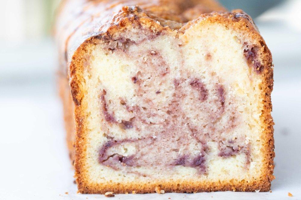 Marionberry Poundcake