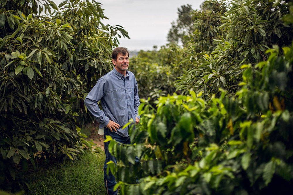 Jay Ruskey, owner of  Good Land Organics  and  Frinj Coffee, INC .