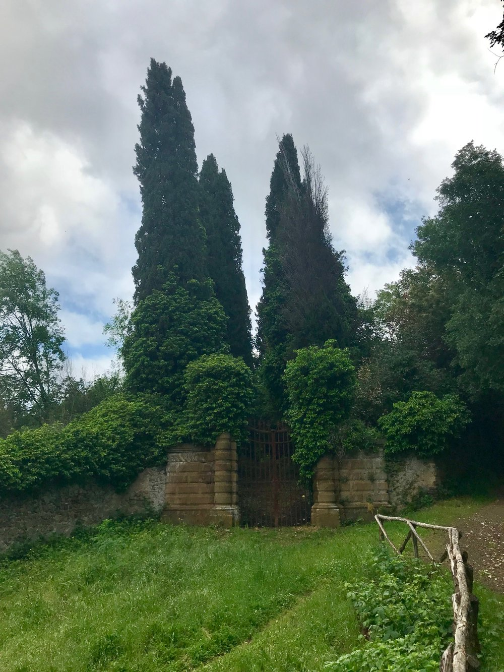 Old regal gates