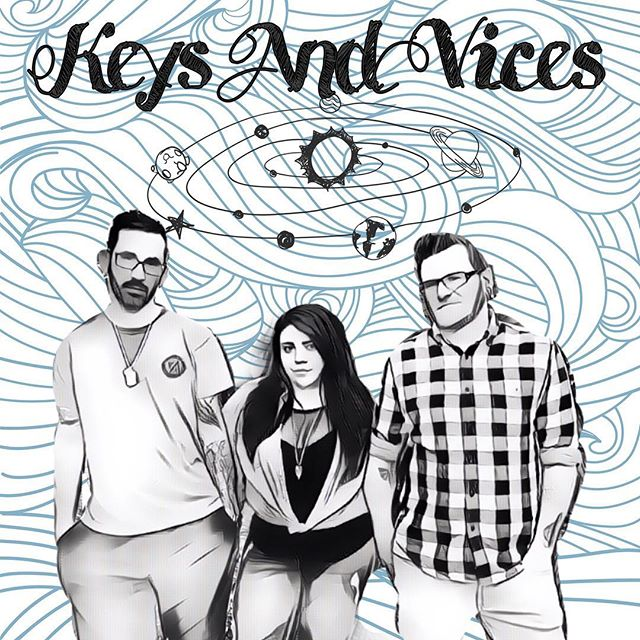 """Listen to Local Licks on 98 Rock tonight 10pm-11pm and hear our song """"Running Away""""! Make sure to text LIKE to 62515 when you hear our song playing! @sacs98rock #keysandvices #runningaway #chronicnostalgia #sacmusicscene"""